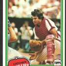 Philadelphia Phillies Bob Boone 1981 Topps Baseball Card # 290 nr mt
