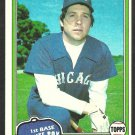 Chicago White Sox Mike Squires 1981 Topps Baseball Card # 292 nr mt