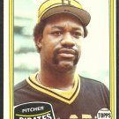 Pittsburgh Pirates Buddy Solomon 1981 Topps Baseball Card # 298 nr mt