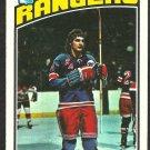 NEW YORK RANGERS RON GRESCHNER 76/77 TOPPS # 154 EX/EX MT