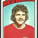 DETROIT RED WINGS RICK LAPOINTE 1976 TOPPS # 48 ex/nm