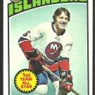 NEW YORK ISLANDERS DENIS POTVIN 1976 TOPPS # 170 EX