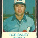 MONTREAL EXPOS BOB BAILEY 1975 HOSTESS # 55