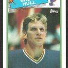 ST LOUIS BLUES BRETT HULL ROOKIE CARD 88/89 TOPPS # 66