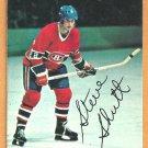 MONTREAL CANADIENS STEVE SHUTT 1977 TOPPS INSERT # 19