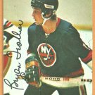 NEW YORK ISLANDERS BRYAN TROTTIER 1976 TOPPS INSERT ROOKIE YEAR CARD