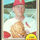 ST LOUIS CARDINALS RAY WASHBURN 1968 TOPPS # 388 EM