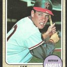 CALIFORNIA ANGELS JAY JOHNSTONE 1968 TOPPS # 389 EX/EM