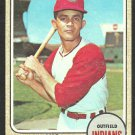 CLEVELAND INDIANS VIC DAVALILLO 1968 TOPPS # 397 g/vg