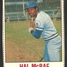 KANSAS CITY ROYALS HAL McRAE 1978 HOSTESS # 6