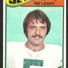 NEW YORK JETS PAT LEAHY 1977 TOPPS # 267 ex/em