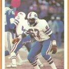 BUFFALO BILLS REGGIE McKENZIE 1980 MARKETCOM POSTER CARD #18