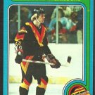 VANCOUVER CANUCKS THOMAS GRADIN ROOKIE CARD 79/80 TOPPS # 53