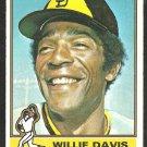 San Diego Padres Willie Davis 1976 Topps Baseball Card # 265