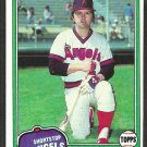 California Angels Freddie Patek 1981 Topps Baseball Card # 311 ex/nm