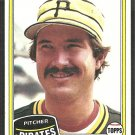 Pittsburgh Pirates Rick Rhoden 1981 Topps Baseball Card # 312 nm