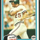Baltimore Orioles Rich Dauer 1981 Topps Baseball Card # 314 nm