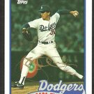LOS ANGELES DODGERS JOHN TUDOR AUTOGRAPHED 1989 TOPPS #35