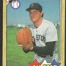 BOSTON RED SOX ROGER CLEMENS AS 1987 TOPPS # 614