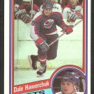 WINNIPEG JETS DALE HAWERCHUK 1984 TOPPS # 152 NR MT