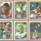 NEW ENGLAND PATRIOTS 1988 TOPPS TEAM SET (14) MORGAN GROGAN TATUPU ++