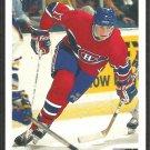 CANADIENS JOHN LeCLAIR ROOKIE CARD RC 1991 UPPER DECK # 345