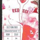 New York Yankees Boston Red Sox 2015 Ticket Gardner Teixeira Napoli HR Ellsbury