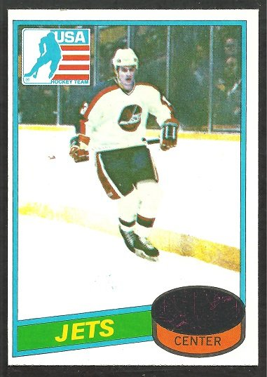 WINNIPEG JETS DAVE CHRISTIAN ROOKIE CARD RC 1980 TOPPS # 176