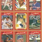 1990 Donruss Boston Red Sox Team Set 28 Yastrzemski Roger Clemens Wade Boggs Jim Rice +