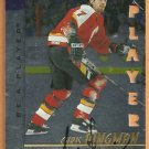 CALGARY FLAMES CHRIS DINGMAN AUTOGRAPHED 1998 PINNACLE INSERT 216