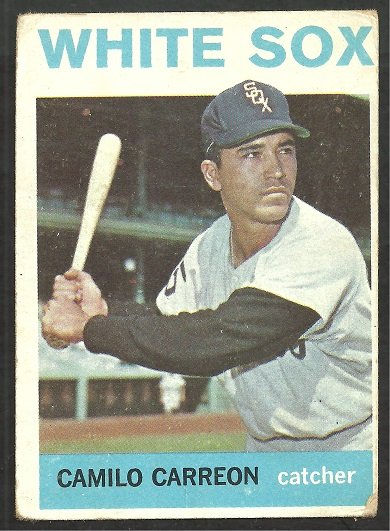 CHICAGO WHITE SOX CAMILO CARREON 1964 TOPPS # 421 good