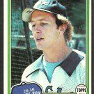 Chicago White Sox Jim Morrison 1981 Topps Baseball Card # 323 nr mt
