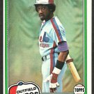 Montreal Expos Rowland Office 1981 Topps Baseball Card # 319 nr mt