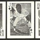 HOUSTON ASTROS RUSTY STAUB JIM WYNN KEN ASPROMONTE  1969 GLOBE IMPORTS CARDS