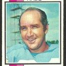 LOS ANGELES RAMS JOHN HADL 1973 TOPPS # 215 vg/ex