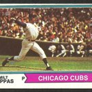 CHICAGO CUBS MILT PAPPAS 1974 TOPPS # 640 ex/em