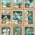 Minnesota Twins Team Lot 1983 Topps Kent Hrbek Gary Gaetti RC Billy Gardner Castino Hatcher
