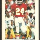 1982 Kansas City Chiefs Police Football Card # 9 Gary Green