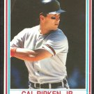 Baltimore Orioles Cal Ripken 1990 Post Cereal Baseball Card # 21