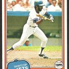 New York Mets Frank Taveras 1981 Topps Baseball Card # 343 nr mt