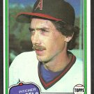 California Angels Bruce Kison 1981 Topps Baseball Card # 340 nr mt
