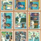 1983 Topps New York Mets Team Lot 20 Mookie Wilson Dave Kingman Rusty Staub Mike Scott