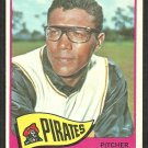 PITTSBURGH PIRATES BOB VEALE 1965 TOPPS # 195 VG