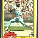 St Louis Cardinals Bob Sykes 1981 Topps Baseball Card # 348 nr mt