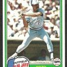 Toronto Blue Jays Otto Velez 1981 Topps Baseball Card # 351 nr mt