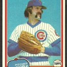 Chicago Cubs Dick Tidrow 1981 Topps Baseball Card # 352 nr mt