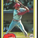 St Louis Cardinals Terry Kennedy 1981 Topps Baseball Card # 353 nr mt
