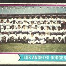 Los Angeles Dodgers Team Card 1974 Topps Baseball Card # 643 good