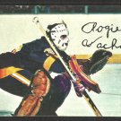 Los Angeles Kings Rogatien Vachon 1977 Topps Hockey Card Insert # 21 vg/ex