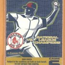 Boston Red Sox 2005 World Series Fenway Park Unused Ticket